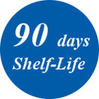 90 days shelf life