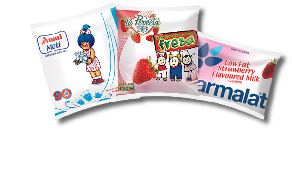 Aseptic Pouches Amul Parmalat